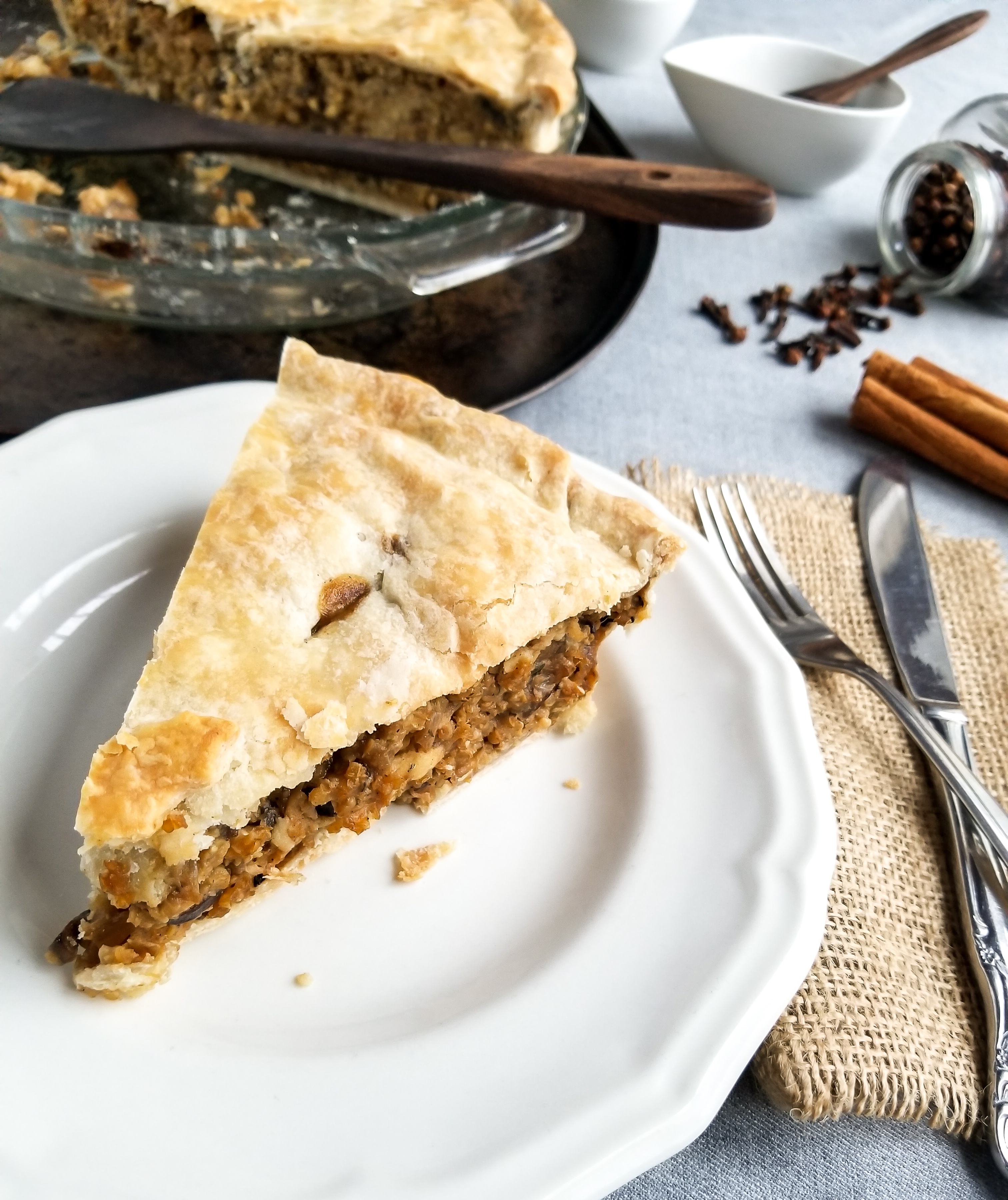 Vegan Tourtière Pie