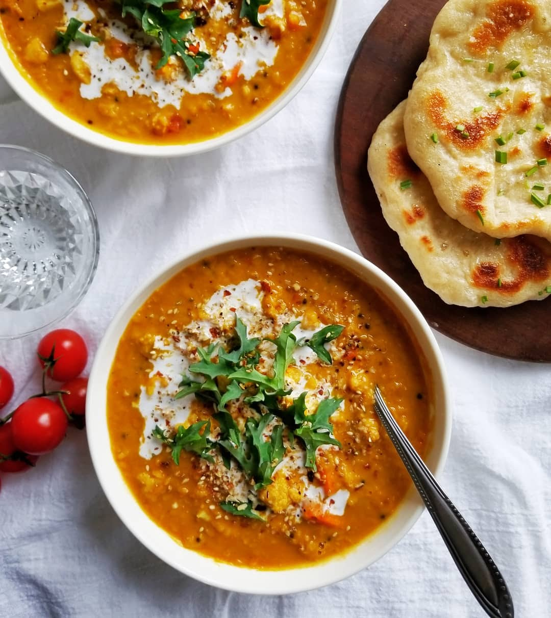 Red Lentil and Cauliflower Dal